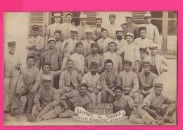 CARTE PHOTO (RÉF : Z12) Guerre 14-18  Régiment à Bizerte (Tunisie) - Guerre 1914-18