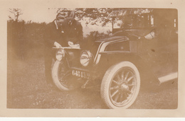 VOITURE ANCIENNE  -  PHOTO ORIGINALE - Dim 11,5x7 Cms - Bon état - Automobili