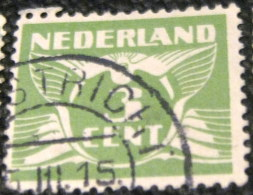 Netherlands 1924 Carrier Pigeon 3c - Used - 1891-1948 (Wilhelmine)