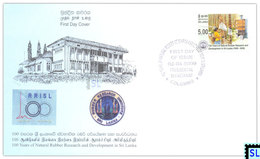 Sri Lanka Stamps 2009, Rubber Research, FDC - Sri Lanka (Ceylon) (1948-...)
