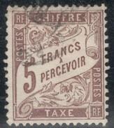 France Yvert Taxe 27 Petit Point Clair Dans Le Coin En Haute à Gauche TB  Cote EUR 475 (numéro Du Lot 132AA) - 1859-1955 Usados