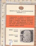 PO6368D# TARGHETTA TELEFONO AUSO SIEMENS S.62 - Telefonia