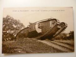 25- DOUBS- CAMP DE VALDAHON- Char Lourd- L'arrivée Au Sommet De La Crète - France