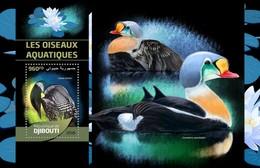 Djibouti - Postfris/MNH - Sheet Watervogels 2016 - Djibouti (1977-...)
