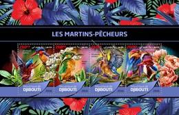 Djibouti - Postfris/MNH - Sheet Kingfisher 2016 - Djibouti (1977-...)