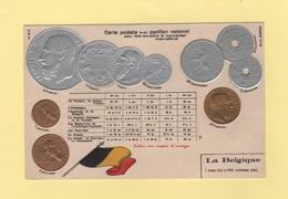 Pour Faire Connaitre Le Monnayage International - Pavillon National - La Belgique - Monnaies (représentations)