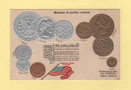 Pour Faire Connaitre Le Monnayage International - Pavillon National - Les Etats Unis D Amerique - Coins (pictures)