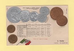 Pour Faire Connaitre Le Monnayage International - Pavillon National - L Italie - Monnaies (représentations)