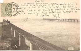 ANGLET - Bayonne - Entrée De La Barre - MD 30 -  Précurseur écrite Et Circulée 1902 - Coupure à 11h - Anglet