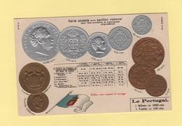 Pour Faire Connaitre Le Monnayage International - Pavillon National - Le Portugal - Monnaies (représentations)
