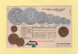Pour Faire Connaitre Le Monnayage International - Pavillon National - Les Pays Bas - Monnaies (représentations)