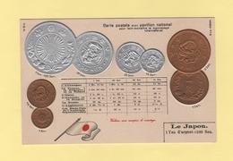 Pour Faire Connaitre Le Monnayage International - Pavillon National - Le Japon - Monnaies (représentations)