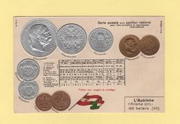 Pour Faire Connaitre Le Monnayage International - Pavillon National - L Autriche - Monnaies (représentations)
