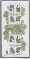 Czech Republic - Tcheque 1996 Yvert 108-11 Protection Of Nature, WWF - Sheetlet -  MNH - Czech Republic