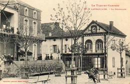 CPA - LAFRANCAISE  (82) - Aspect Du Café Restaurant Et De La Promenade Dans Les Années 20 - Lafrancaise