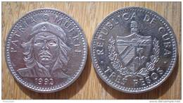 Cuba 3 Pesos 1992 Che Guevara About Uncirculated Centavos Cent Kuba Pesos Peso Skrill Paypal OK - Cuba