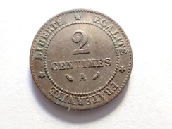 2 CENTIMES 1885 A CERES FRANCE - France