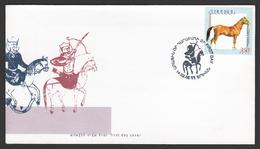 Armenien / Armenie / Armenia 2005 ,  Horse, Joint Issue With Karabakh - FDC - Gezamelijke Uitgaven