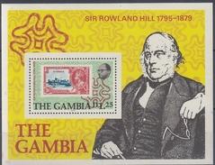 GAMBIA 1979 HB-4 NUEVO - Gambia (1965-...)