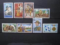 BEAUX TIMBRES DE GRECE N° 705 - 712 , XX !!! - Greece