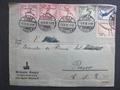 BRIEF Halle - Prerov Sport 1936  /// D*21985 - Deutschland