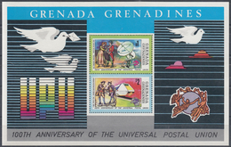 GRENADA GRENADINES 1974 HB-3 NUEVO - Sellos