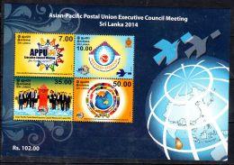 2014; Sri Lanka, Conférence De L'Union Postale De L'Asie  APPU, YT BF 136, Neuf **, Lot 47021 - Poste