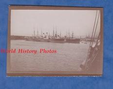 Photo Ancienne - MARSEILLE - Vue Du Port Prise Du Paquebot Eugène Pereire - Bateau Compagnie Générale Transatlantique - Bateaux