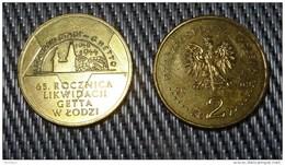 Liquidation Of The Ghetto In Lodz - 2009 POLAND - 2zł Collectible/Commemorative Coin POLONIA - Poland
