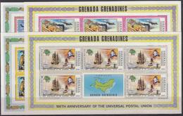 GRENADA GRENADINES 1974 Nº 23/26 (5 SERIES EN BLOQUE) NUEVO - Briefmarken