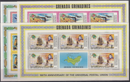 GRENADA GRENADINES 1974 Nº 23/26 (5 SERIES EN BLOQUE) NUEVO - Stamps