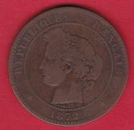 France 10 Centimes Cérès 1872 A - France