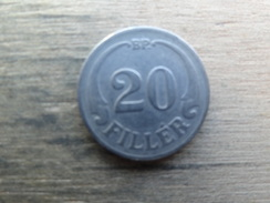 Hongrie  20  Filler 1926  Km 508 - Hongrie