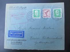 BRIEF Berlin - Essen 1929 Luftpost   // D*21997 - Briefe U. Dokumente