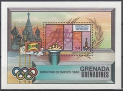 GRENADA GRENADINES 1980 HB-49 NUEVO - Sellos