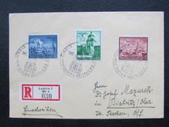 BRIEF Geneal Gouvernement 1942 Lublin - Bistritz Olsa 1942 // D*21998 - Besetzungen 1938-45