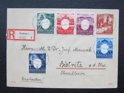 GANZSACHE Radom - Bistritz Olsa 1944 // D*21999 - Besetzungen 1938-45