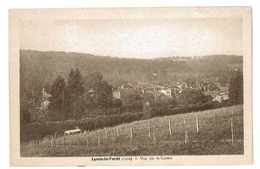 CPA 27 LYONS LA FORET VUE SUR LE CENTRE - Lyons-la-Forêt