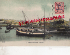 MAROC - TANGER - VUE GENERALE 1913 - Tanger