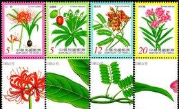Taiwan - 2000 - Poisonous Plants - Mint Stamp Set - 1945-... République De Chine