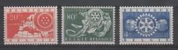 Belgique - COB N° 952/54 - Neuf - Nuovi
