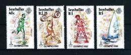 Seychelles  Nº Yvert  446/9  En Nuevo - Seychelles (1976-...)