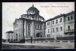 75/35  CARTOLINA POSTALE BOLOGNA ANNI 30 CHIESA DEL SACRO CUORE - Bologna
