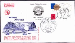 Frankreich France - PHILEXFRANCE'82 (Yvert V+2141) 1981 - FDC - 1980-1989