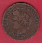France 10 Centimes Cérès 1897 A - France