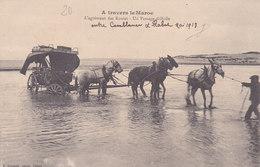Entre Casa Et Rabah. Diligence. L´agrément Des Routes Tbe N Et B - Unclassified