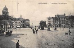 Bruxelles Brussel    Perspective De L'Avenue Louise   Tram           A 4809 - Brussels (City)