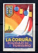 Viñeta  La Coruña Ciudad De Turismo. - España
