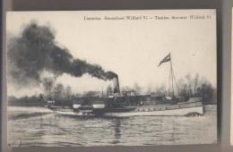 Temsche 1914 TAMISE - De Stoomboot Wilford VI - Le Steamer Wilford VI - Bateau à Vapeur - Bateaux