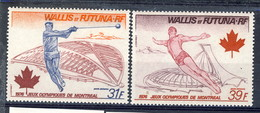 WF Posta Aerea 1976 Serie N. 72-73 MNH Cat. € 8,35 - Airmail